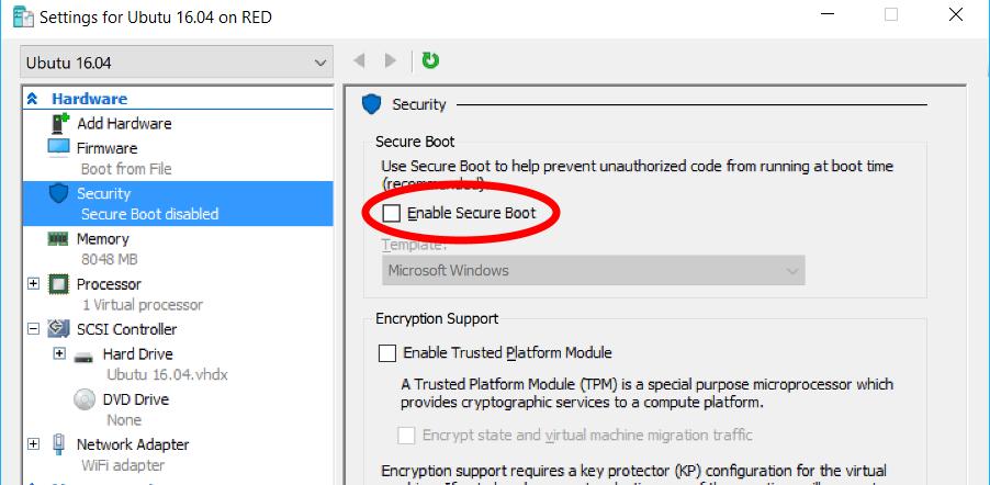 Ubuntu  NET developer - possibile or not? - part 1 - Hyper-V in